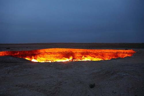 A porta para o inferno – Derweze, Turcomenistão