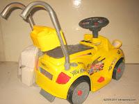 4 Mobil Mainan Aki Wimcycle Hotwheels Built for Speed Small dengan Kendali Jauh