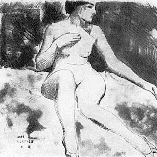 Нивинский Игнатий Игнатьевич (1881-1933) «Обнаженная»