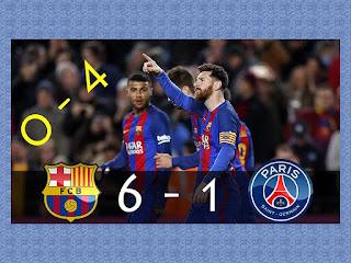 FC Barcelona - Paris SG 6-1 slike besplatne pozadine za desktop free download hr