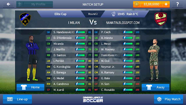 baju marinir tni dream league soccer