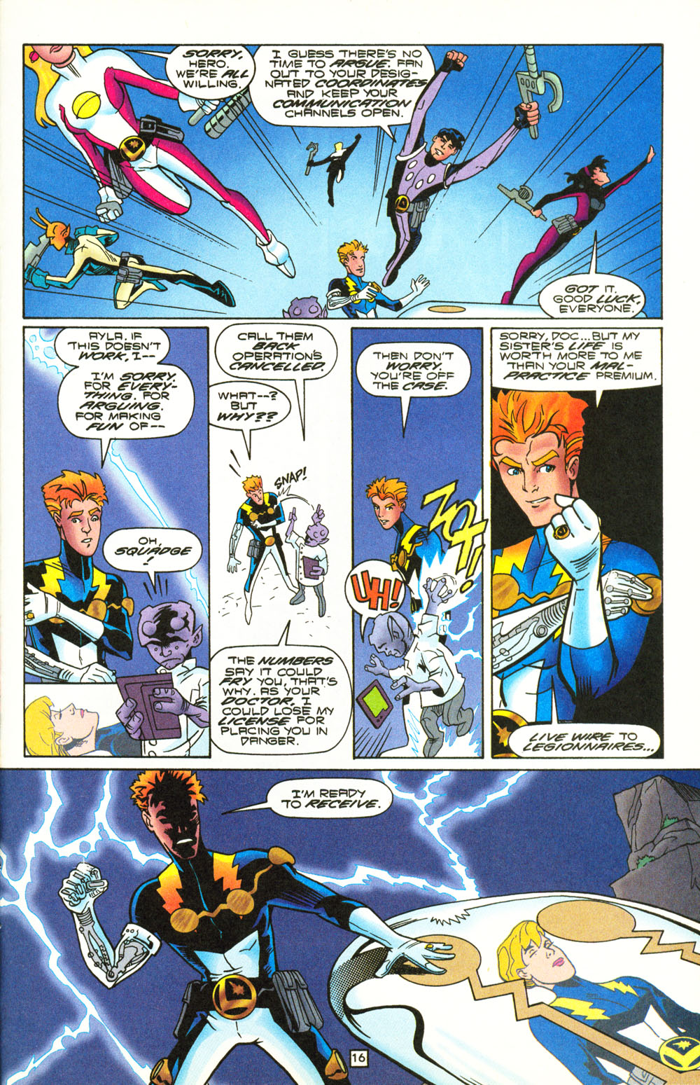 Legion of Super-Heroes (1989) 101 Page 16