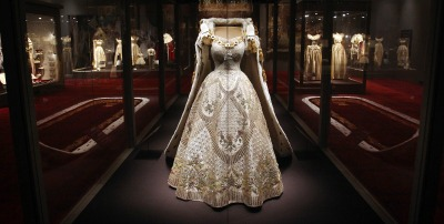 Queen Elizabeth II Coronation Gown on Display