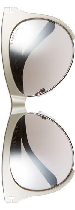 Tom Ford 'Leona' 59mm Sunglasses