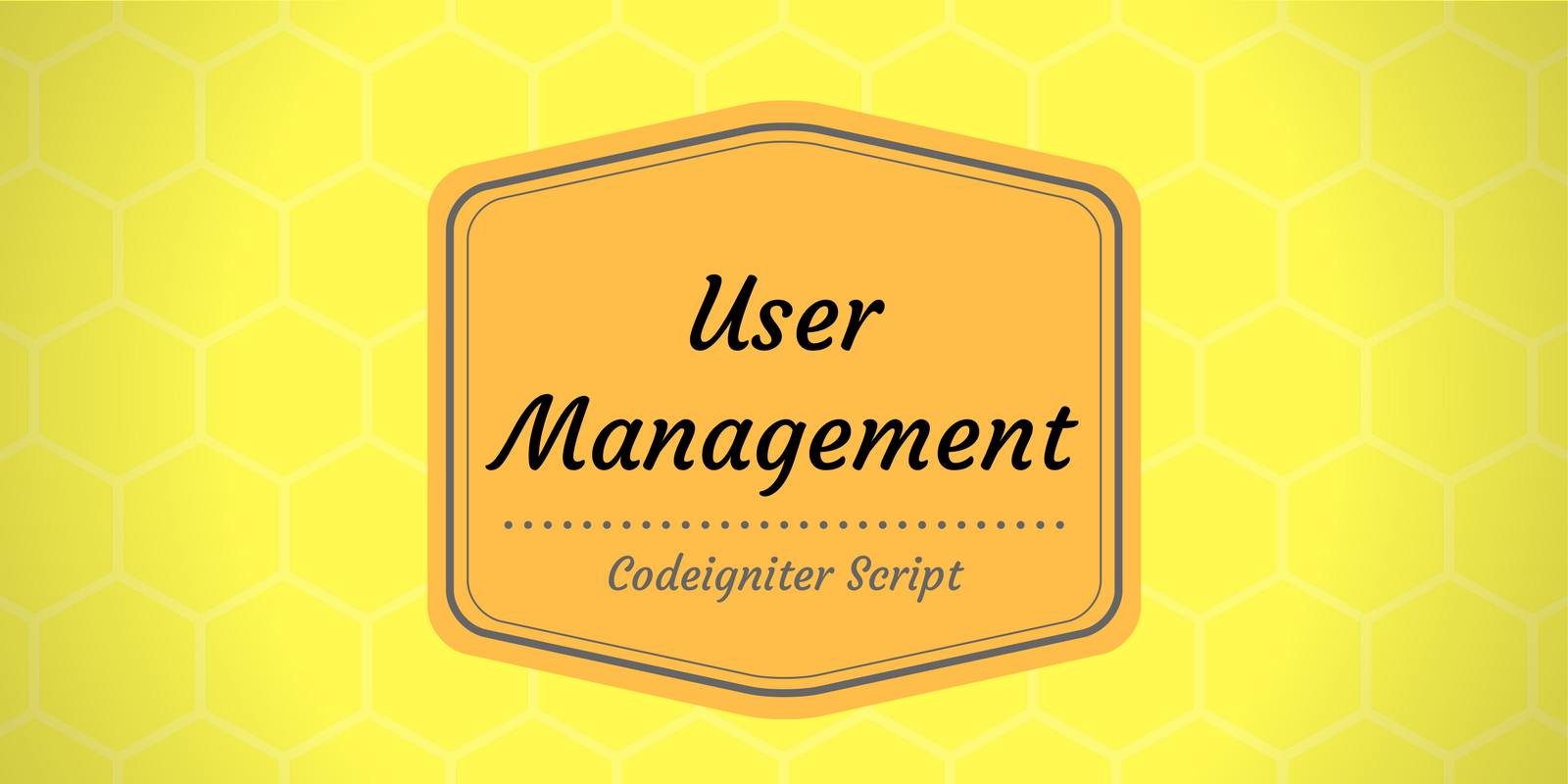 PHP/Codeigniter User Management Script with adminlte - Free