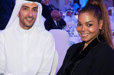 Janet Jackson Al 620x410 - Photos of Janet Jackson without hijab after separation from her husband Wissam Al Mana