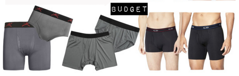 Men's budget travel underwear