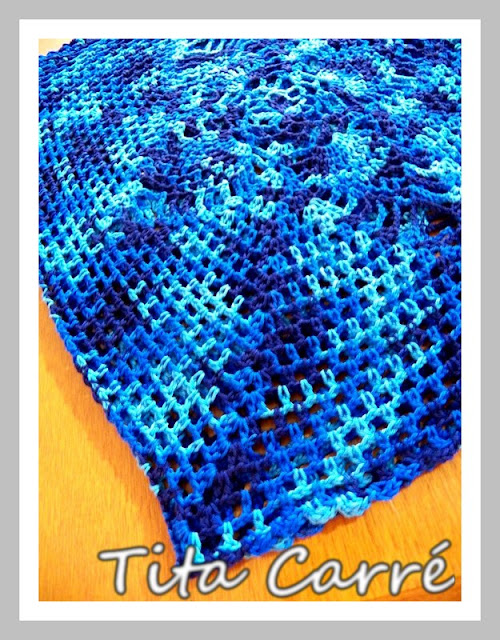 Regata Pineapple em tons de azul
