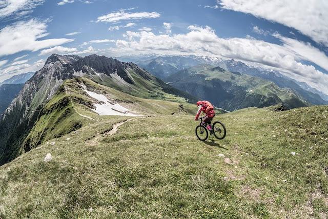 E-bike tour Flatschspitze Brenner, Mountainbike