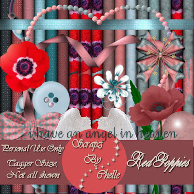 Freebie Kit: Red Poppies