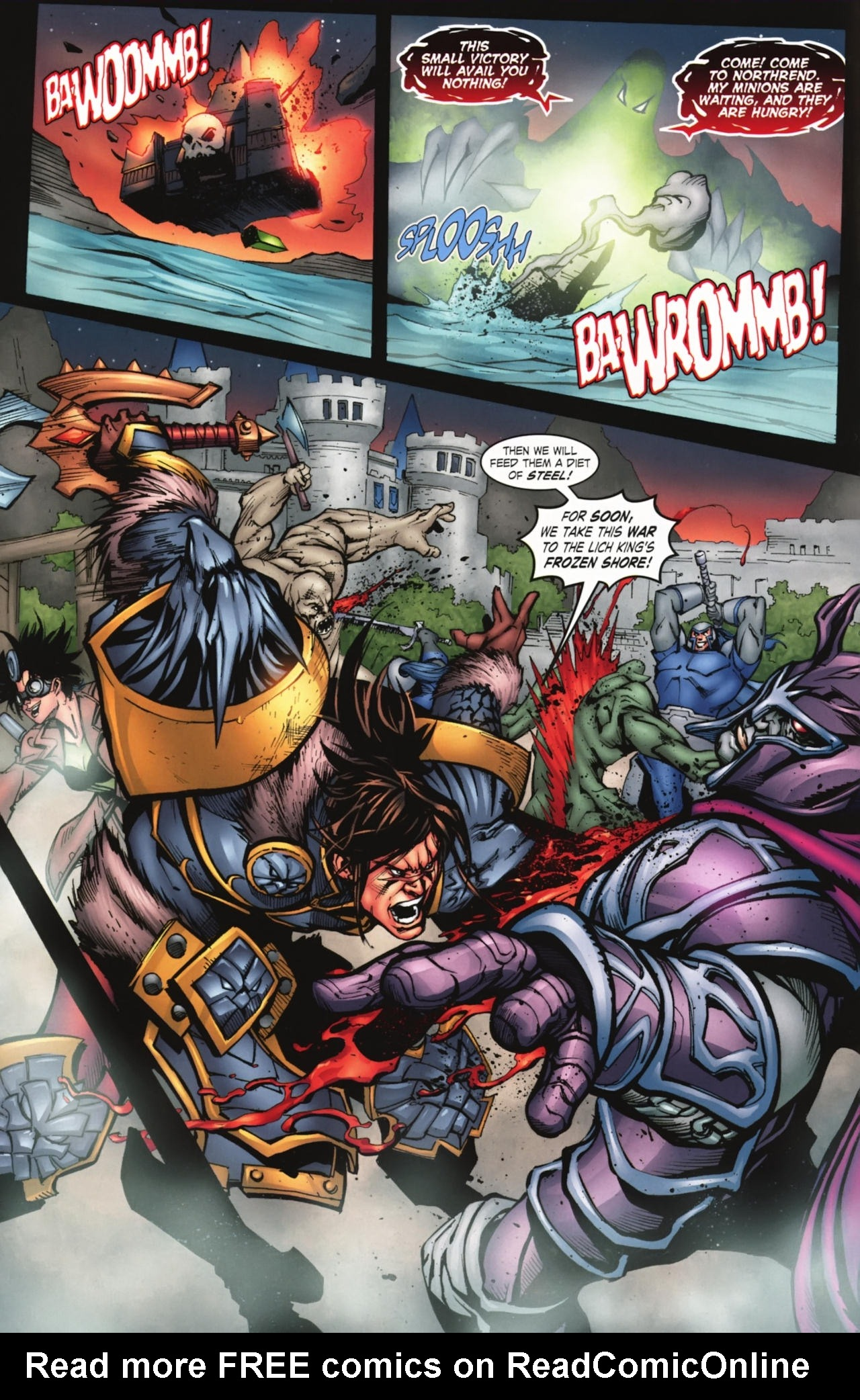 Read online World of Warcraft comic -  Issue #20 - 4