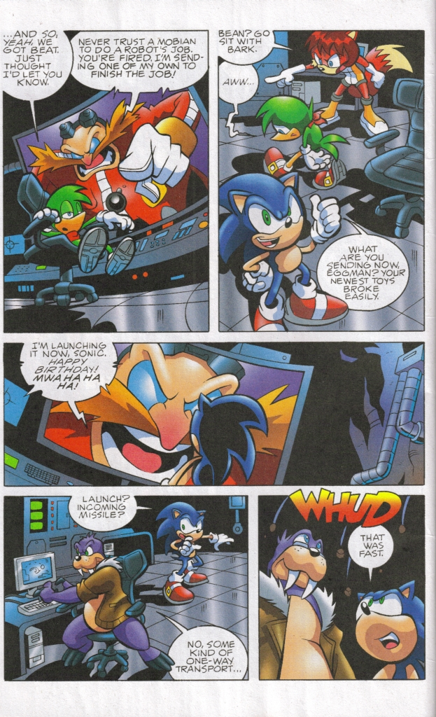 Read online Sonic The Hedgehog comic -  Issue #160 - 18