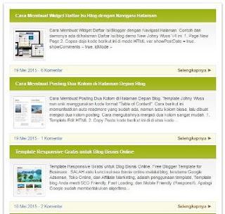 Sitemap com thumbnail imagem