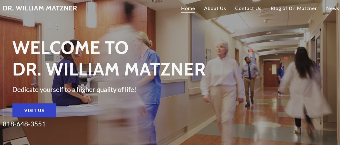 Dr. William Matzner Blog