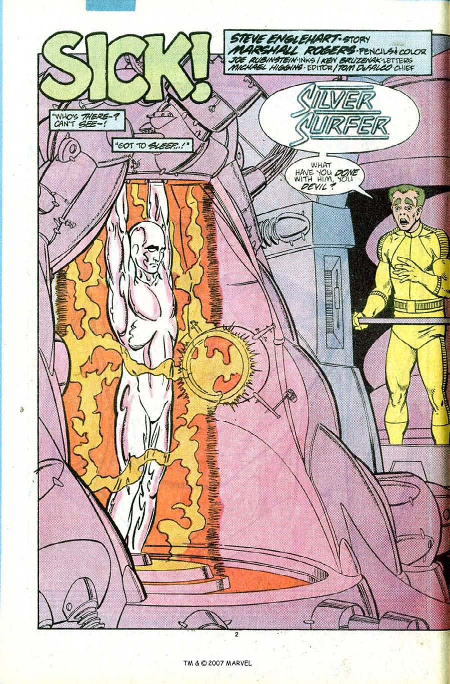 Read online Silver Surfer (1987) comic -  Issue #12 - 4