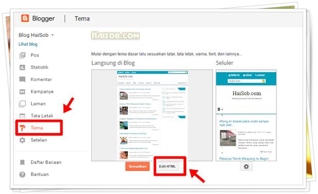 Cara Menampilkan Gambar/Thumbnail Postingan Hanya di Homepage Blogger