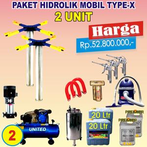 Paket Hidrolik-X 2 Unit