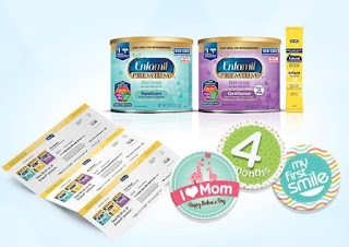Image: Let Enfamil(r) help you nourish milestones | Join Enfamil Family Beginnings | You'll get trusted advice for every stage of your baby's development | plus discounts on Enfamil products, free samples and goodies, such as an Enfamil Pack 'n Cool(tm) | This offer is intended for U.S. residents only