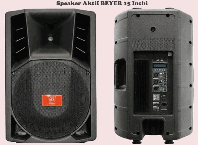 """Harga Speaker BEYER 15"""" Aktif"""