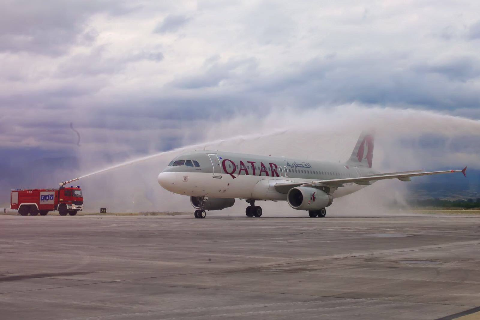 Qatar Airways inaugurates Doha-Skopje flight