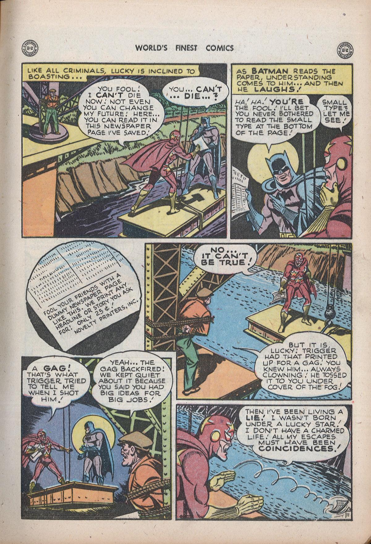 Read online World's Finest Comics comic -  Issue #32 - 13