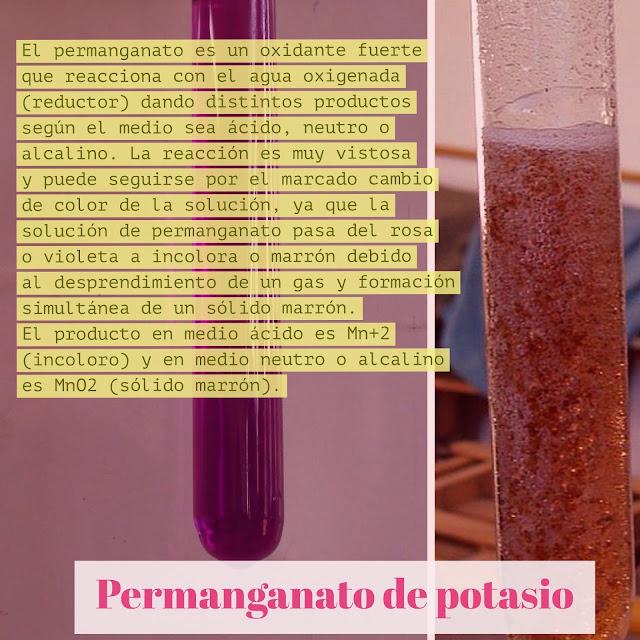 Reactividad permanganato