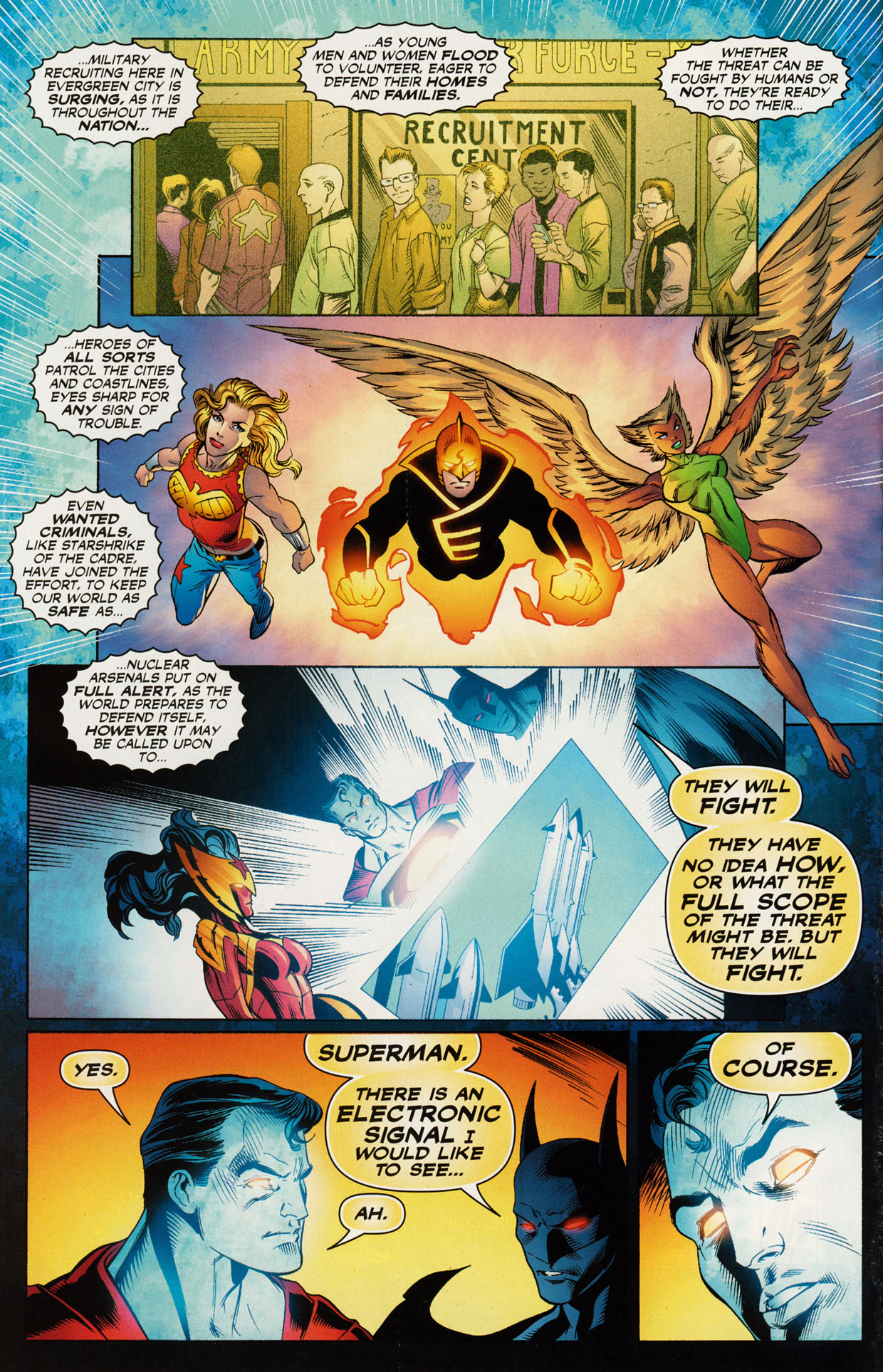 Read online Trinity (2008) comic -  Issue #46 - 7