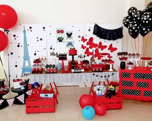 101 Fiestas 18 Ideas Para Tu Mesa De Dulces De Ladybug