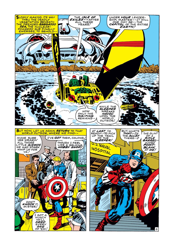 Read online Captain America (1968) comic -  Issue #102 - 5