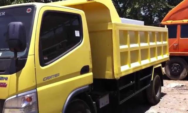 modifikasi mobil dam truk canter