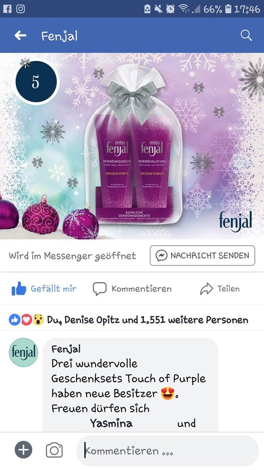 Gewinn Weihnachtskalender.Rosa Wölkchen Mein Erster Adventskalender Gewinn Kam
