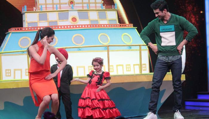 Kriti Sanon and Sushant Singh Promote Raabta on The Sets of Sabse Bada Kalakar