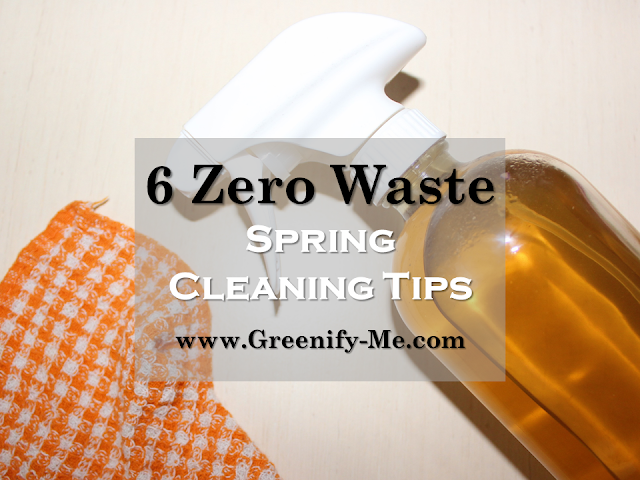 zero waste spring cleaning