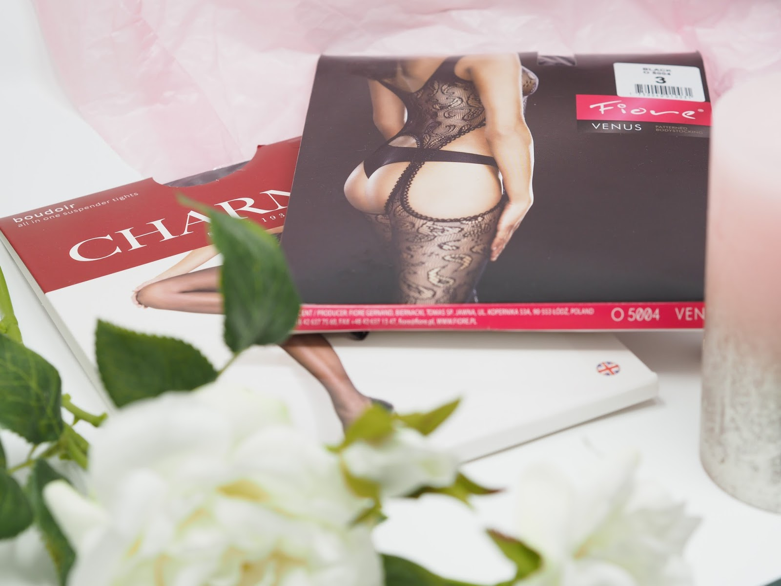 valentines gifts lingerie flatlay