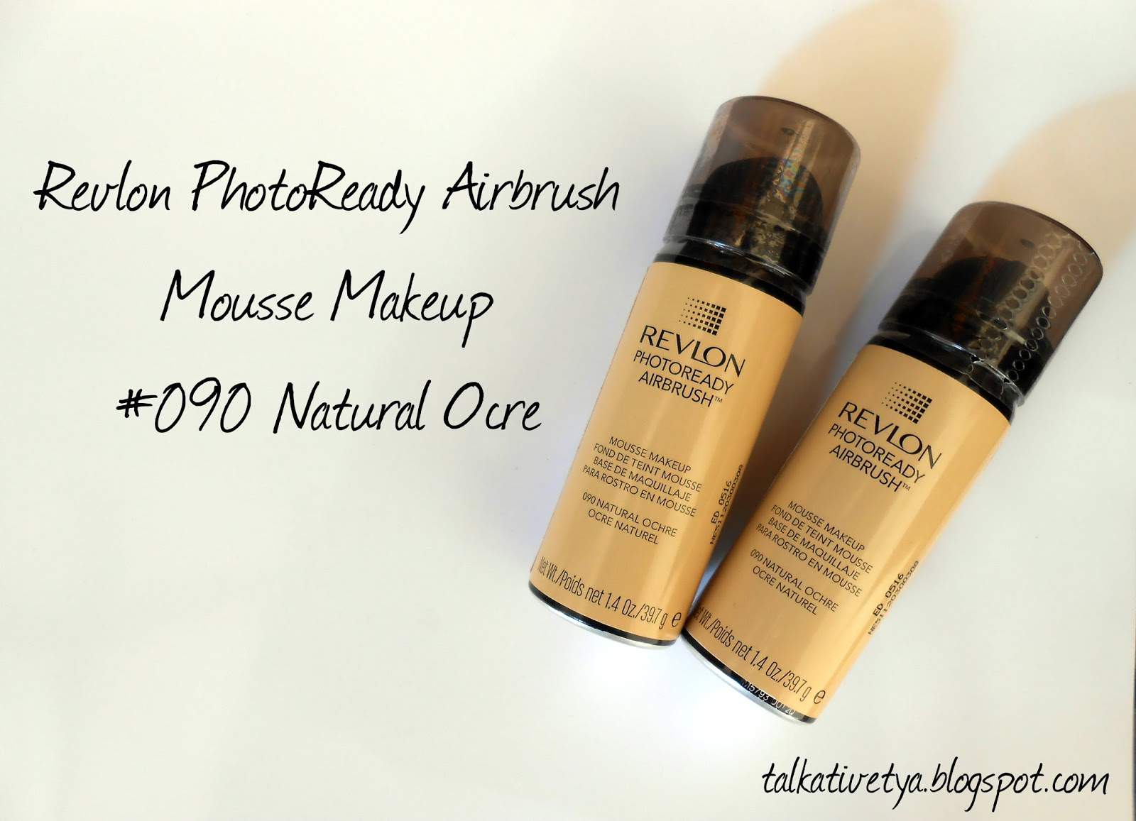 Revlon Photoready Airbrush Mousse Makeup Foundation Shades Effect Nude Review 090 Natural Ocre