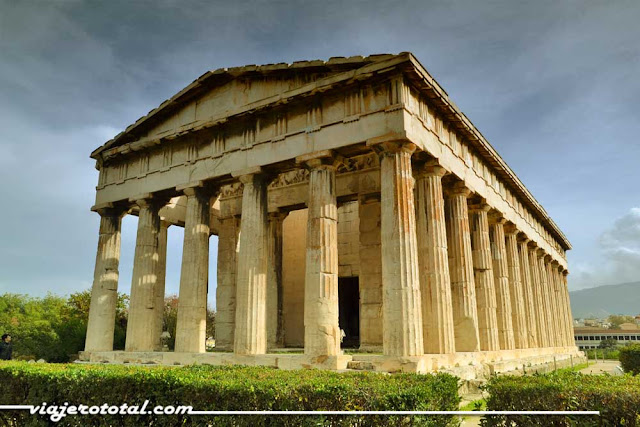 Templo Hefesto, Ágora de Atenas