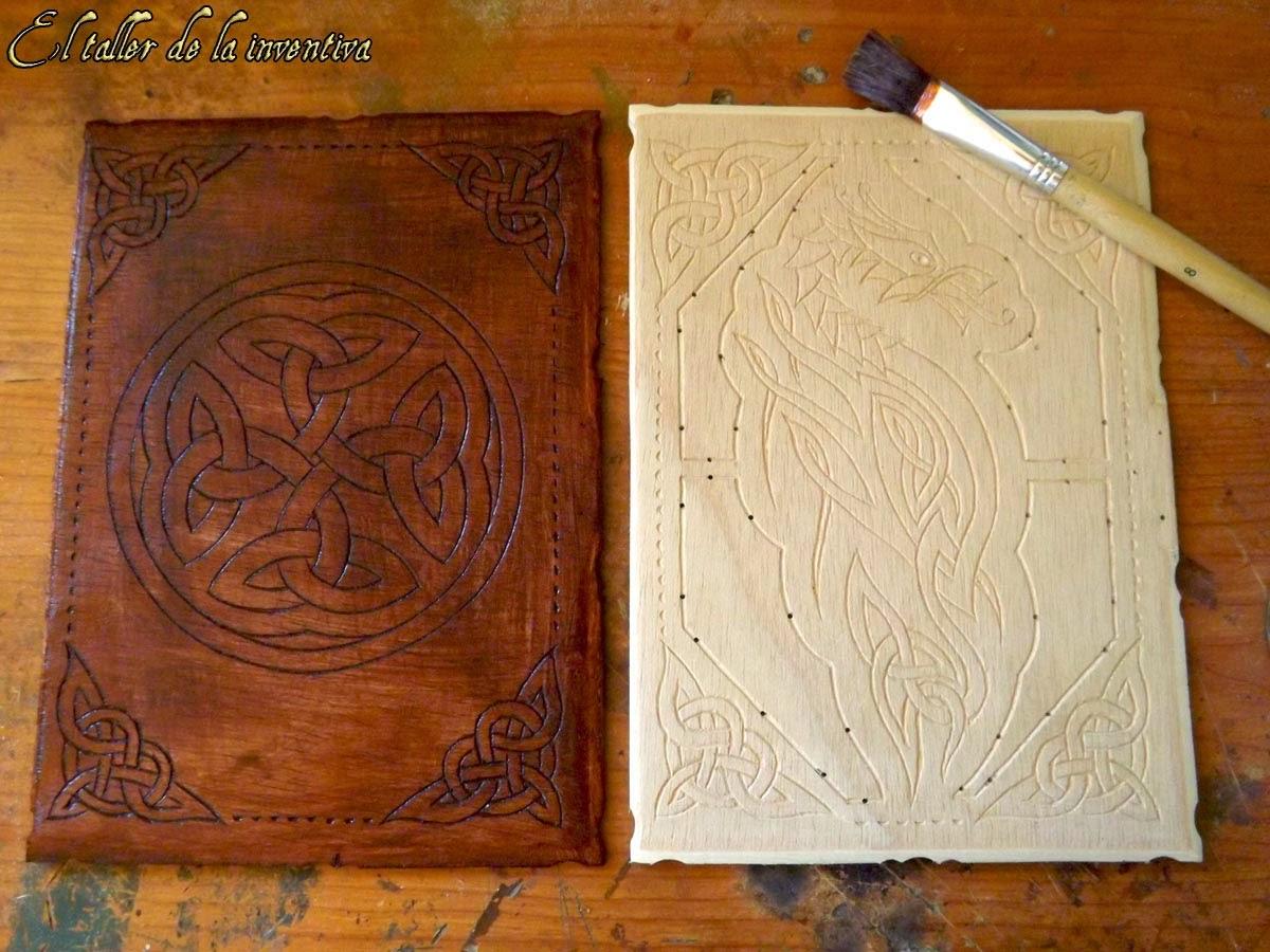El taller de la inventiva c mo hacer libros cuadernos - Como hacer un libro antiguo ...