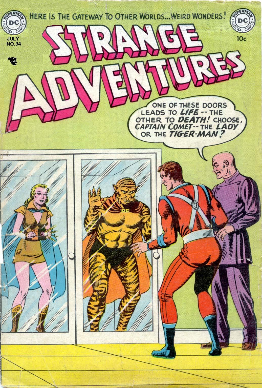 Strange Adventures (1950) 34 Page 1
