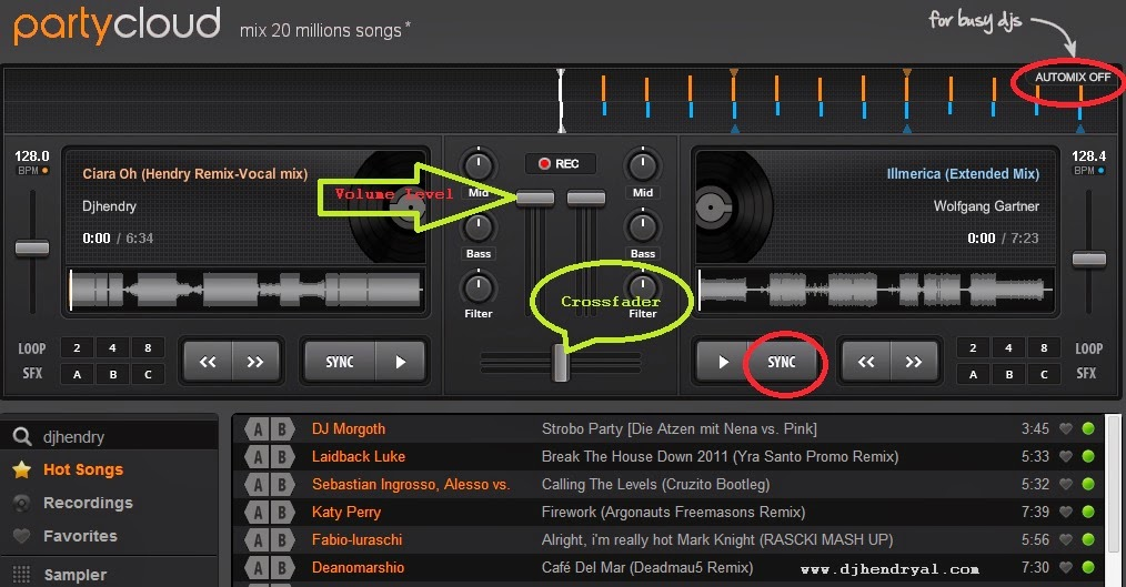 Gratis software mixing lagu online