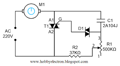 Ceiling Fan Regulator  Motor Speed Control Circuit Diagram | Wiring Diagram