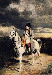 napoleone a cavallo