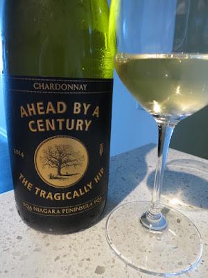 The Tragically Hip Ahead By A Century Chardonnay 2014 - VQA Niagara Peninsula, Ontario, Canada (88 pts)