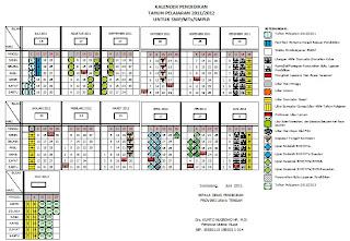 Download Kalender Akademik Tahun Pelajaran 2011/2012