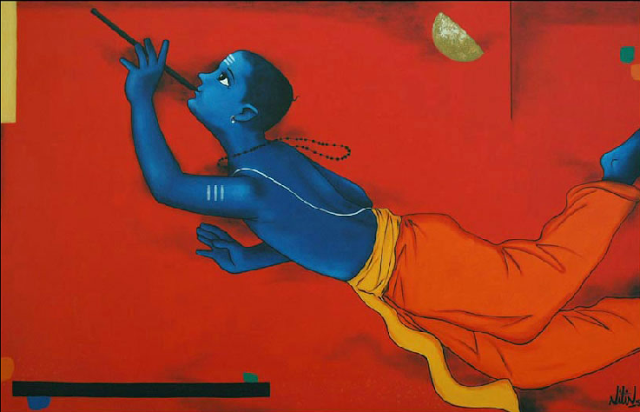 Paintings By Indian Artist Nitin Ghangrekar