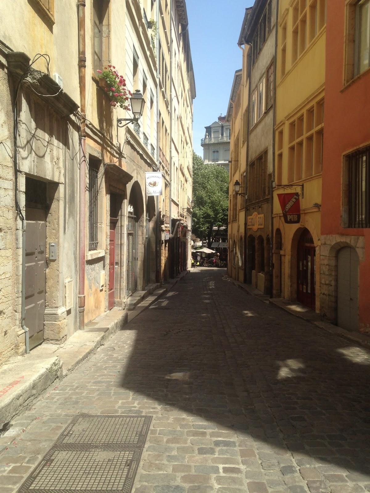 Rue Mourguet vieux Lyon