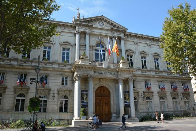Avignon city hall