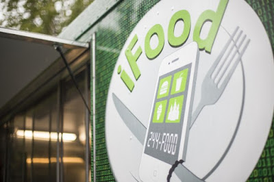 Keep an eye out for Amy's self-designed iFood truck at festivals and events around Anchorage. (Photo by Ted Kincaid / University of Alaska Anchorage)