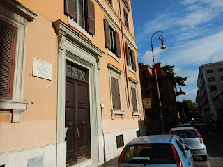 Fermi's birthplace in Via Gaeta in Rome