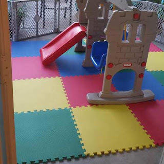 Greatmats foam floor tiles outside kids play mats