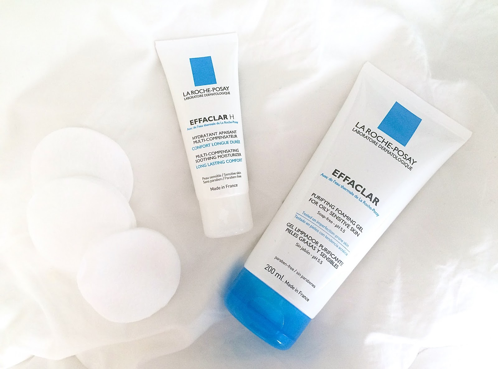 Products from my La Roche-Posay skincare routine